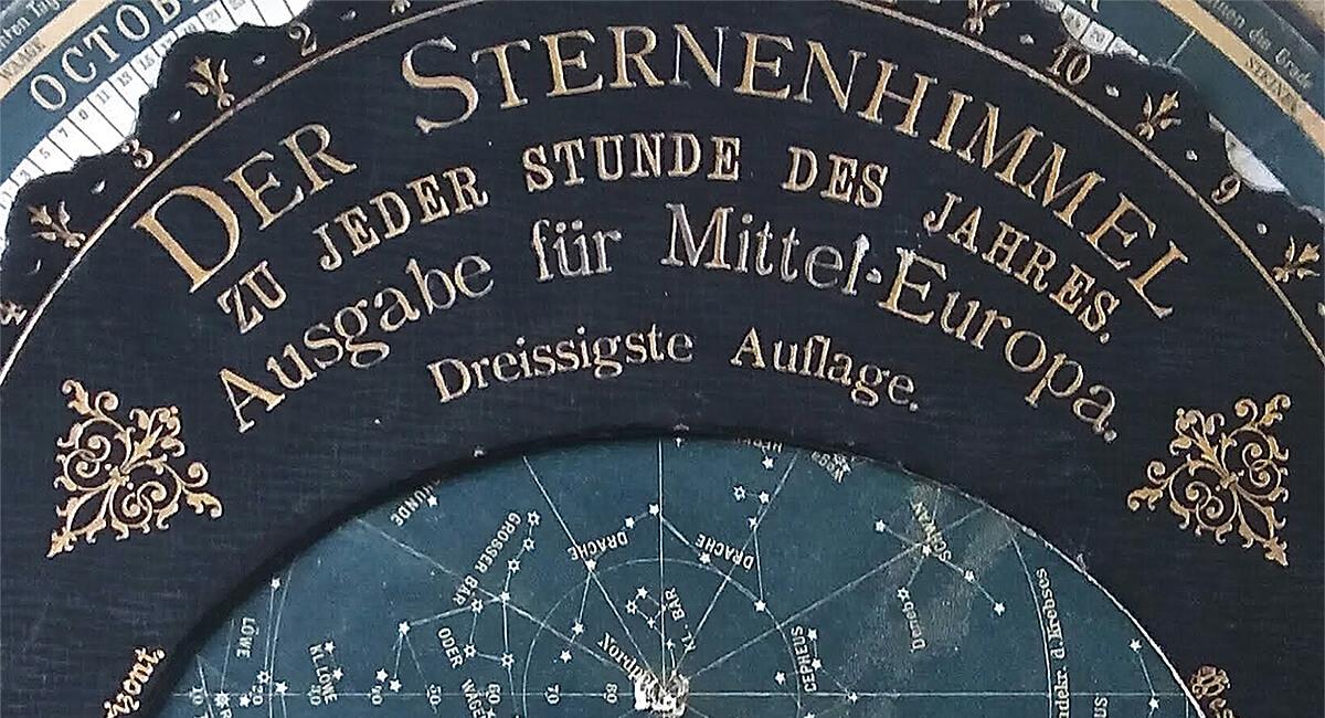 Stefania Zeppieri   Conservazione e Restauro Beni Librari, Archivistici, Opere d'Arte su carta e manufatti Affini   Restauro Astrolabio Austriaco primi '900 - santino