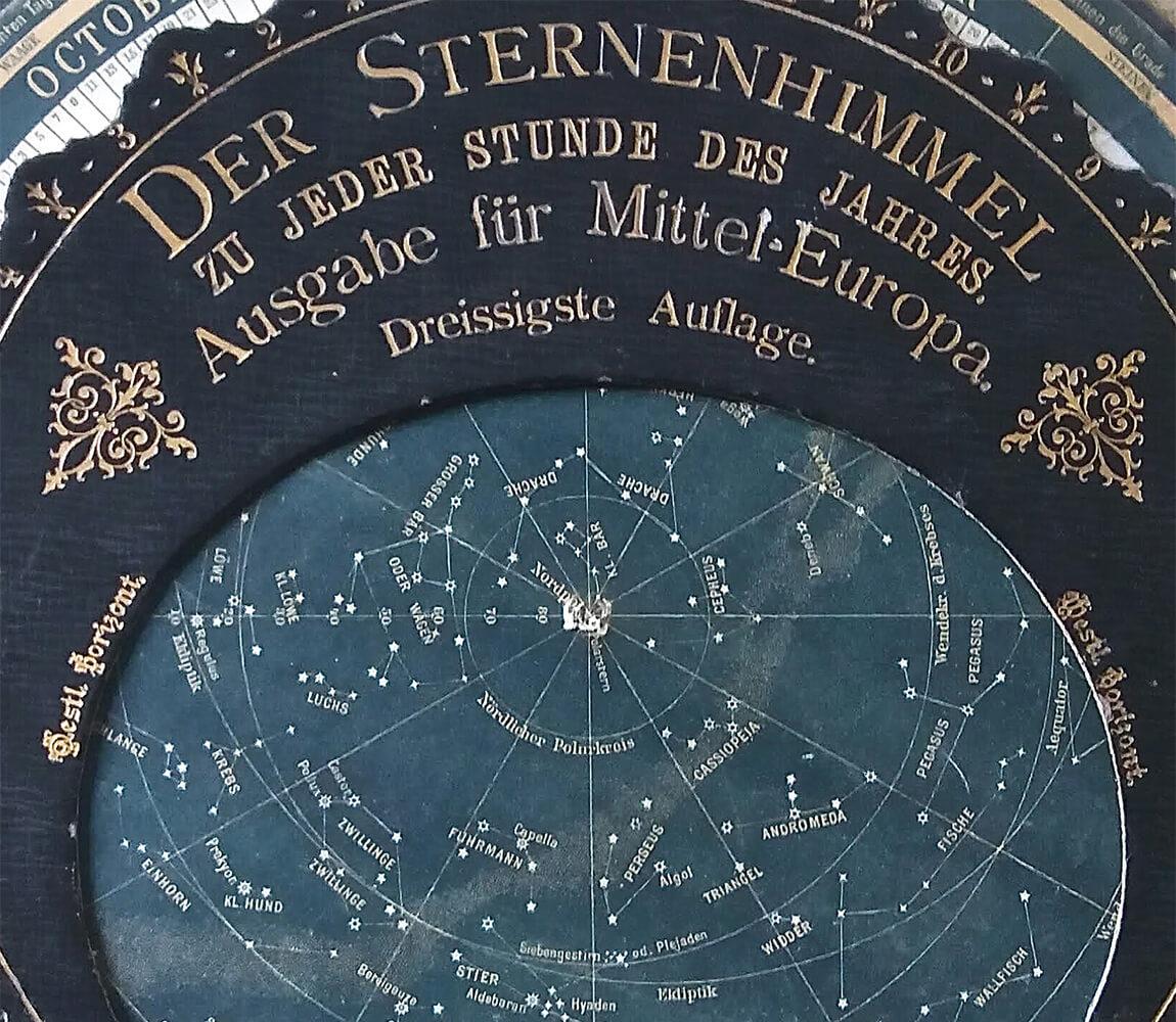 Stefania Zeppieri | Conservazione e Restauro Beni Librari, Archivistici, Opere d'Arte su carta e manufatti Affini | Restauro Astrolabio Austriaco primi '900 - header