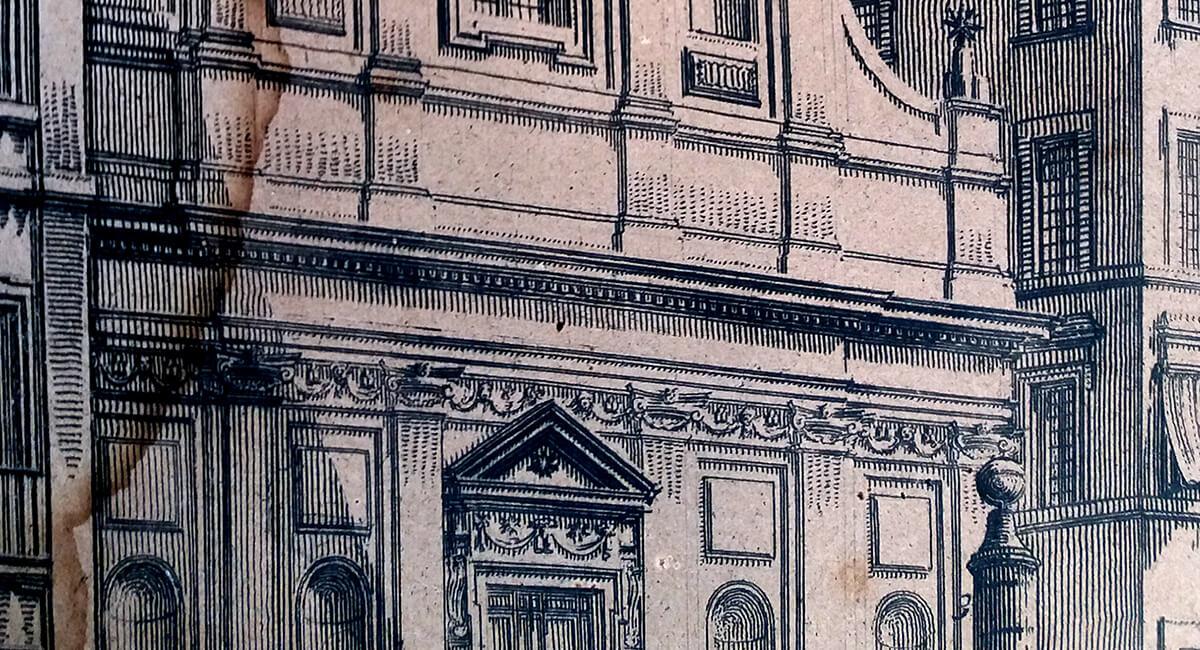 Stefania Zeppieri   Conservazione e Restauro Beni Librari, Archivistici, Opere d'Arte su carta e manufatti affini   Restauro Litografie Piranesi - santino