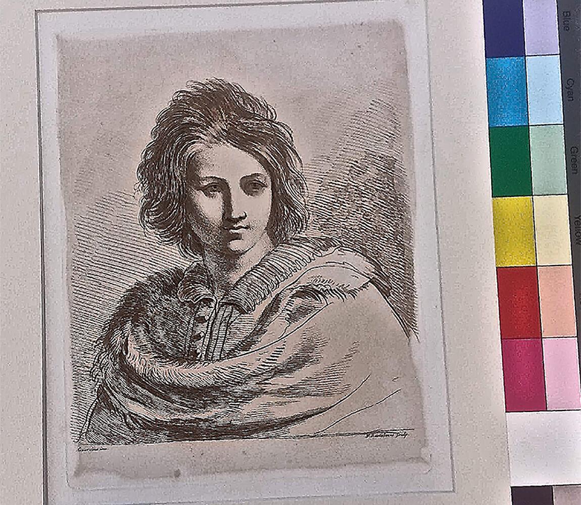 Restauro Incisione Originale Francesco Bartolozzi [Collezione Privata]